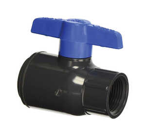 Spears  Ball  Utility Ball Valves  1-1/2 in. FPT   x 1-1/2 in. Dia. FPT  PVC