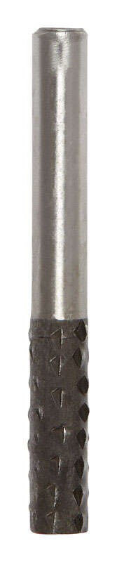 Vermont American  1/4 in. Dia. x 7/8 in. L Alloy Steel  Cylindrical with Round End  Single Cut  Rota