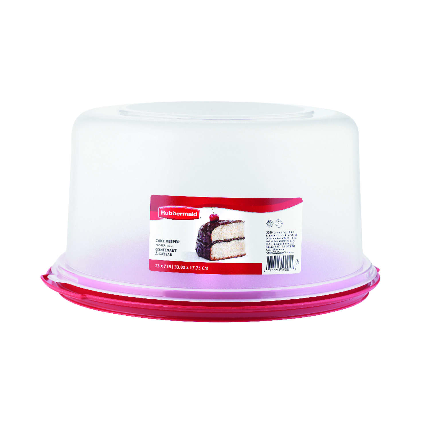 Rubbermaid  Cake Carrier  1 pk
