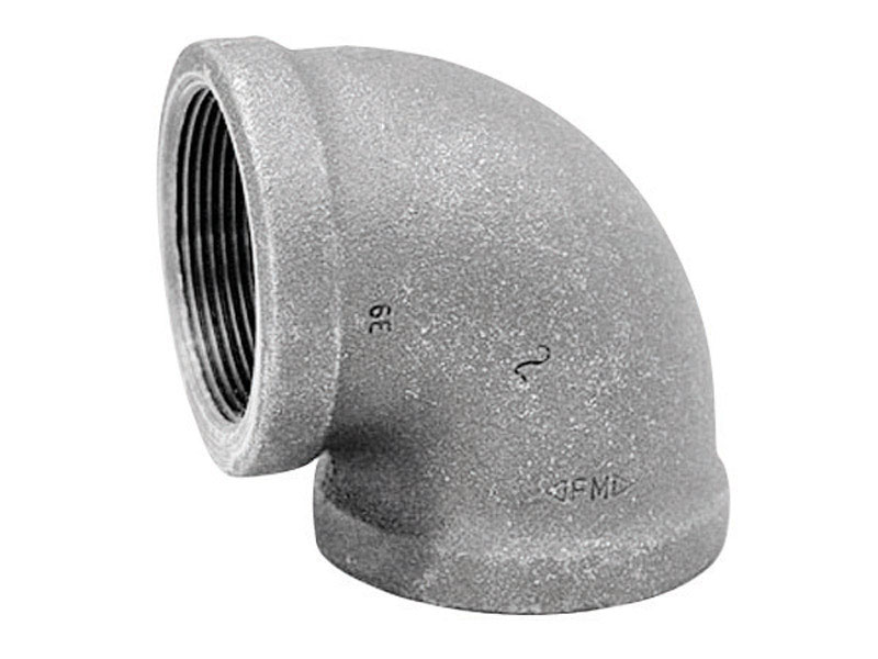 FPT   Black  Malleable Iron  Cap Anvil  2 in