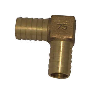 Campbell  Red Brass  Insert Elbow  3/4 in.  x 5 in. L