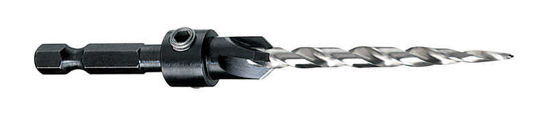 DeWalt  #12-7/32 in. Dia. Stainless Steel  Quick-Change Hex Shank  1 pc. Countersink  1/4 in.