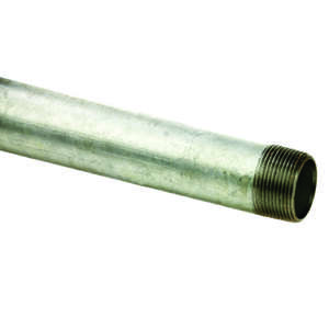 Ace  1-1/4 in. Dia. x 60 in. L Gray  Galvanized  Pre-Cut Pipe