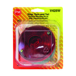 Peterson  Red  Round  License/Stop/Tail/Turn  Light