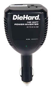 Diehard  110 volts Power Inverter  140 watts