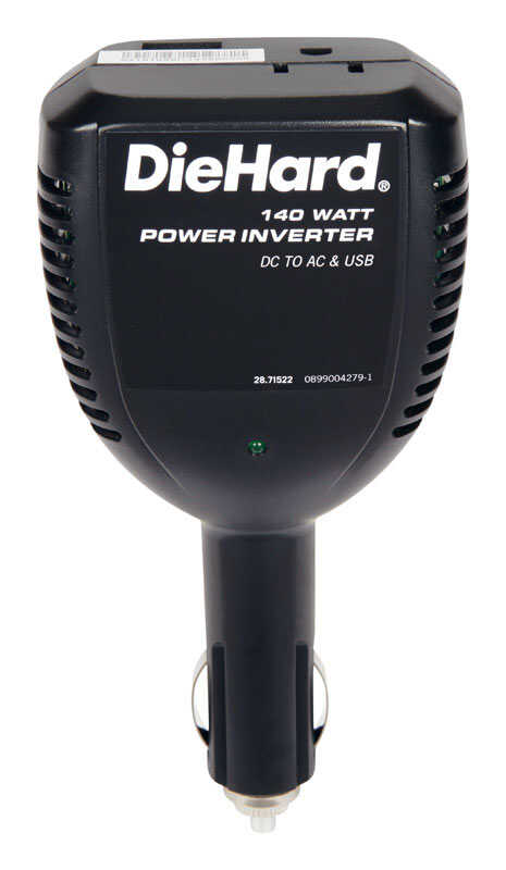 Diehard  110 volt 140 watts Power Inverter