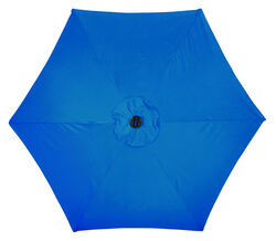 Living Accents  9  Tiltable Royal Blue  Market  Umbrella