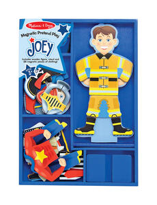 Melissa & Doug  Joey  Joey Magnetic Dress-Up Set  Wood