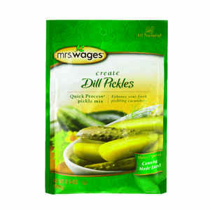 Mrs. Wages  Dill Pickle Canning Mix  6.5 oz. 1 pk