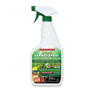 Organocide  3-in-1 Garden Spray  Organic Insect, Disease & Mite Control  24 oz.