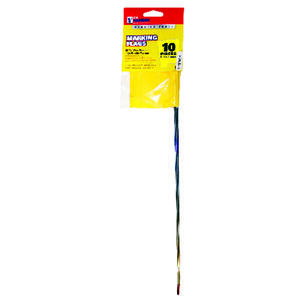 C.H. Hanson  15 in. Yellow  Marking Flags  Polyvinyl  10 pk