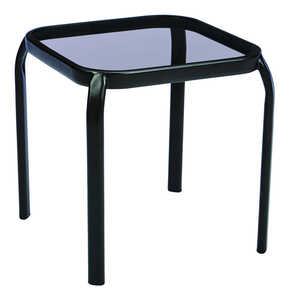 Living Accents  Smoke  Newport  Square  End Table
