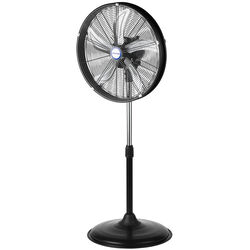 KOOL-FLO 55.1 in. H x 20 in. Dia. 3 speed Electric Oscillating Pedestal Fan