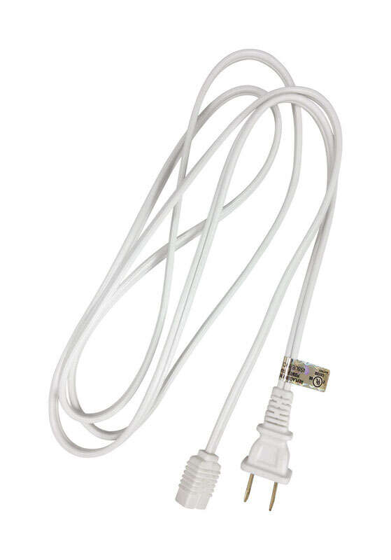 Ace  18/2 SPT - 2  6 ft. L Appliance Cord