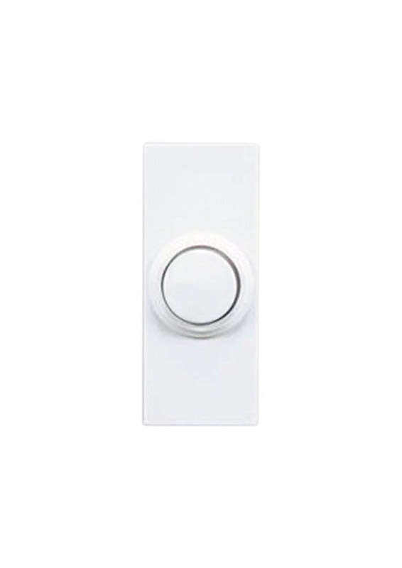 Heath Zenith  Plastic  Wireless  Pushbutton Doorbell