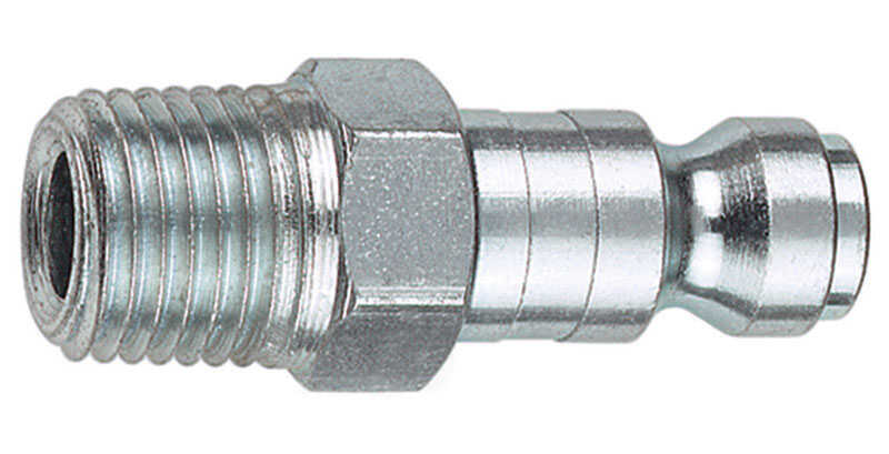 Tru-Flate  Steel  Air Plug  3/8 in. Male  1 pc.