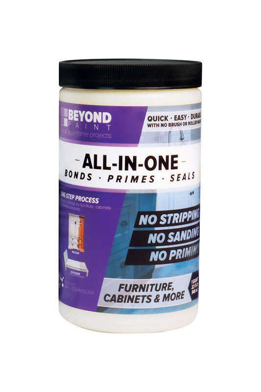 BEYOND PAINT  All-In-One  Matte  Water-Based  Licorice  Paint  Acrylic  1 qt.