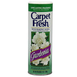 Carpet Fresh  Gardenia Scent Carpet Odor Eliminator  14 oz. Powder