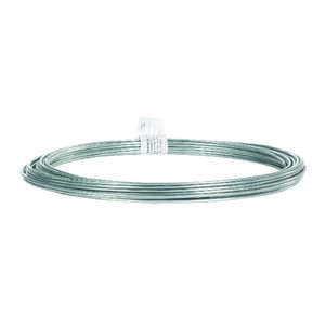 HILLMAN  0.101 - 0.106 in. Dia. x 50 ft. L Galvanized  Steel  12 Ga. Wire