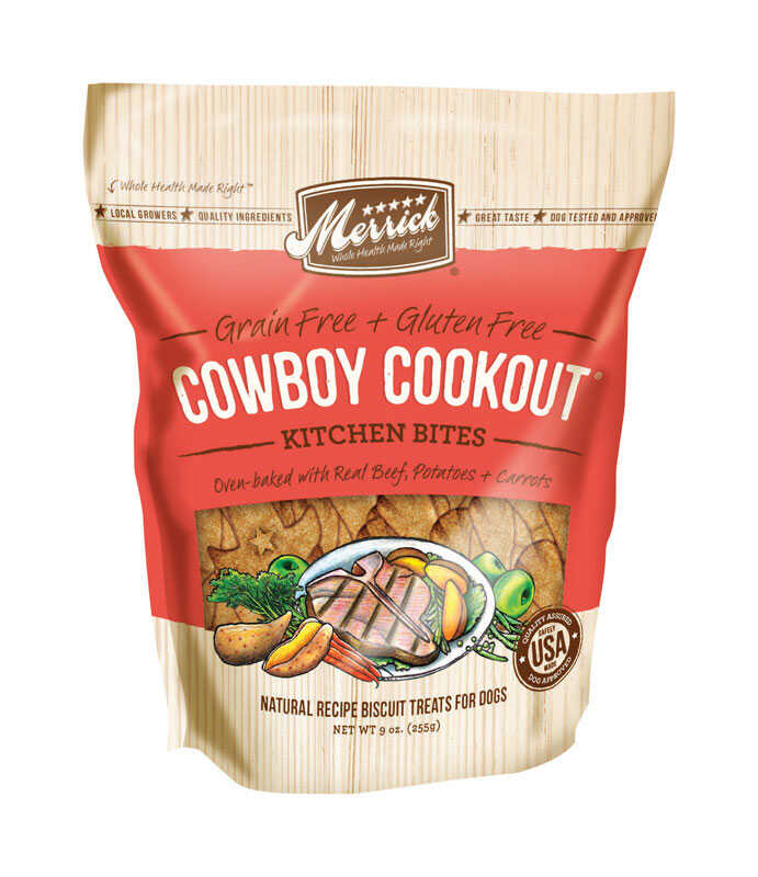 Merrick  Cowboy Cookout  Dog  Treats