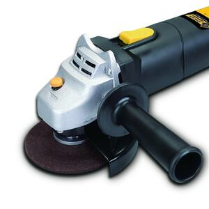 Steel Grip  Corded  5 amps 4-1/2 in. Angle Grinder  12000 rpm Small