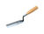 Marshalltown  2 in. W Polished Steel  Margin  Trowel