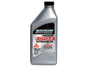 Quicksilver  Marine Lubricants  TC-W3  2 Cycle Engine  Motor Oil  1 qt.