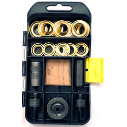 General Tools  Brass  Grommet Kit  19 pc.