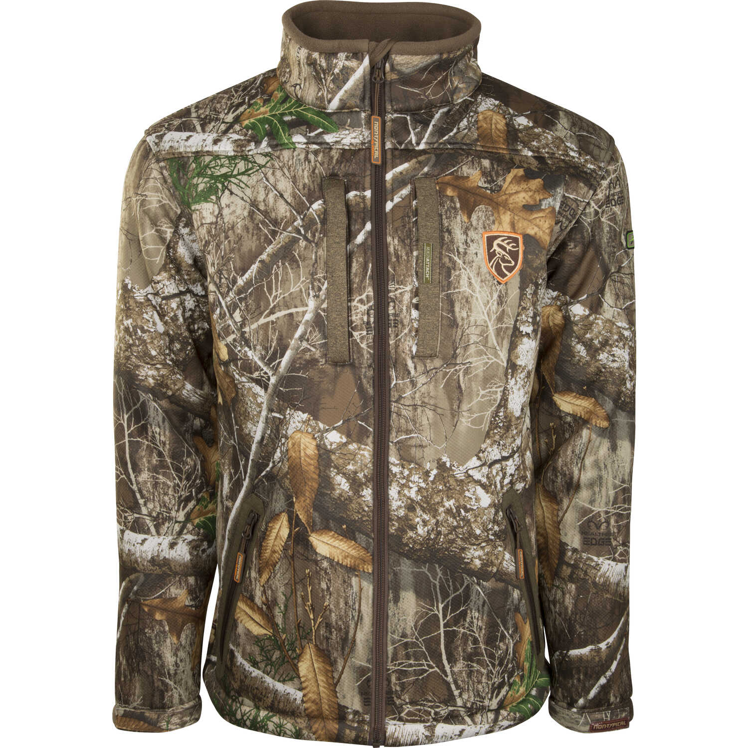 Drake  Silencer  Medium  Men's  Long Sleeve  Full-Zip  Realtree Edge  Jacket