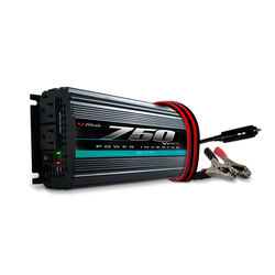Schumacher 120 volt 750 watts 2 outlets Power Inverter