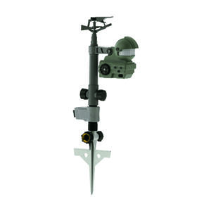 Orbit  Yard Enforcer  Plastic  Spike Base  Pest Deterrent Sprinkler  1600 sq. ft.