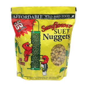 CS Products  Assorted Species  Suet Nuggets  Sunflower  27 oz.