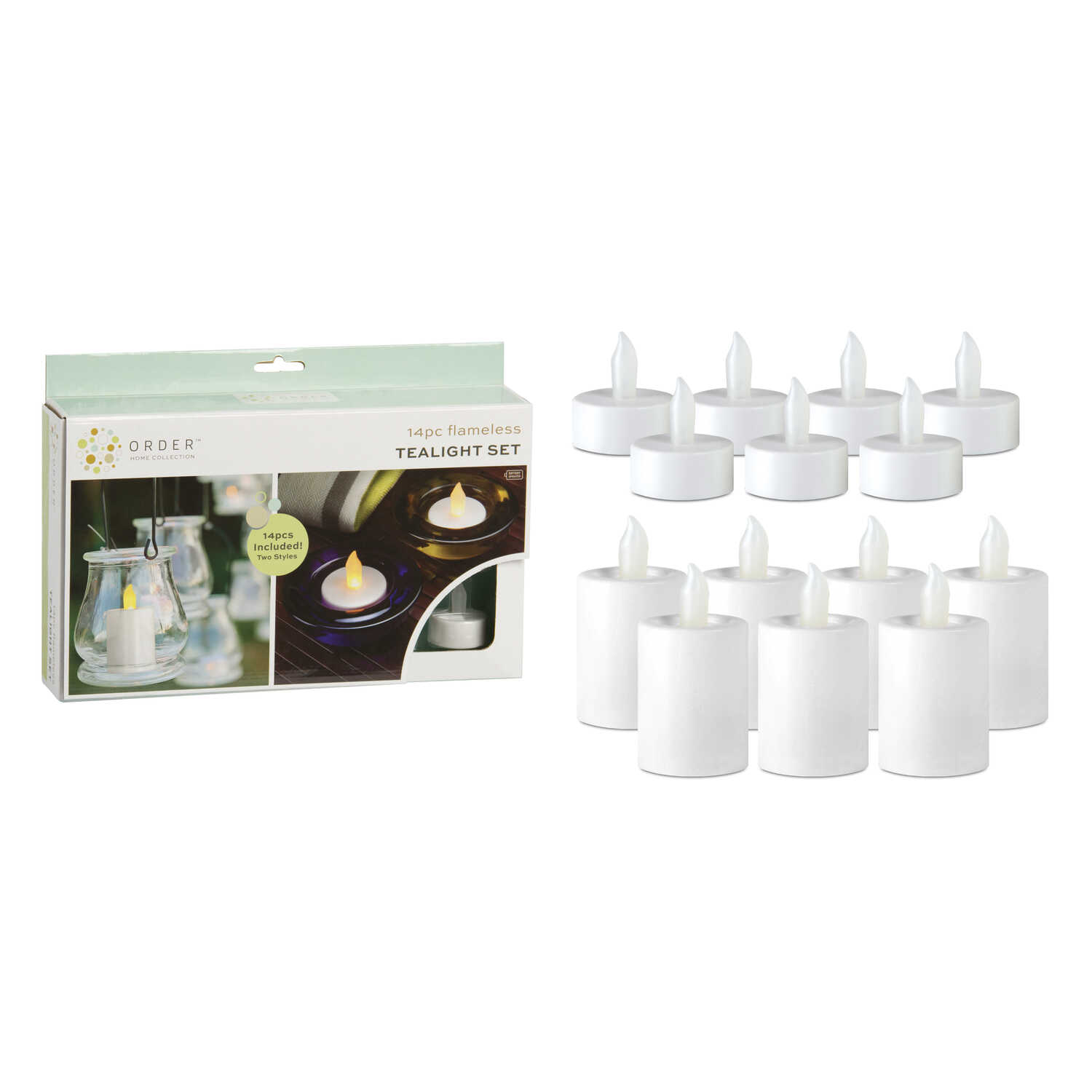 Order White Tealight And Votive Flameless Flickering Candle 1 2 In Led Flicker Circuit H