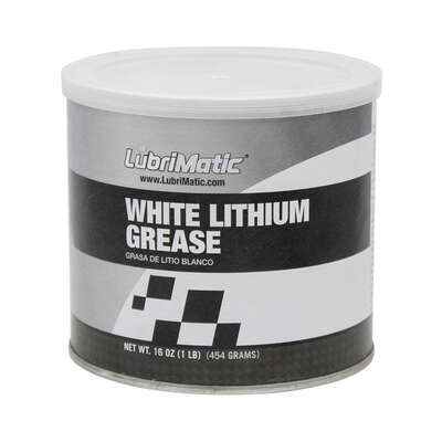 Lubrimatic White Lithium Grease 16 oz.