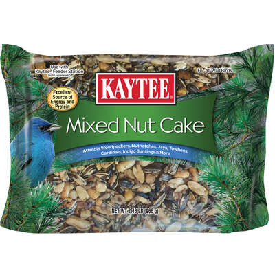 Kaytee  Mixed Nut Cake  Songbird  Mixed Nut Cake  Shelled Peanuts  2.13 lb.