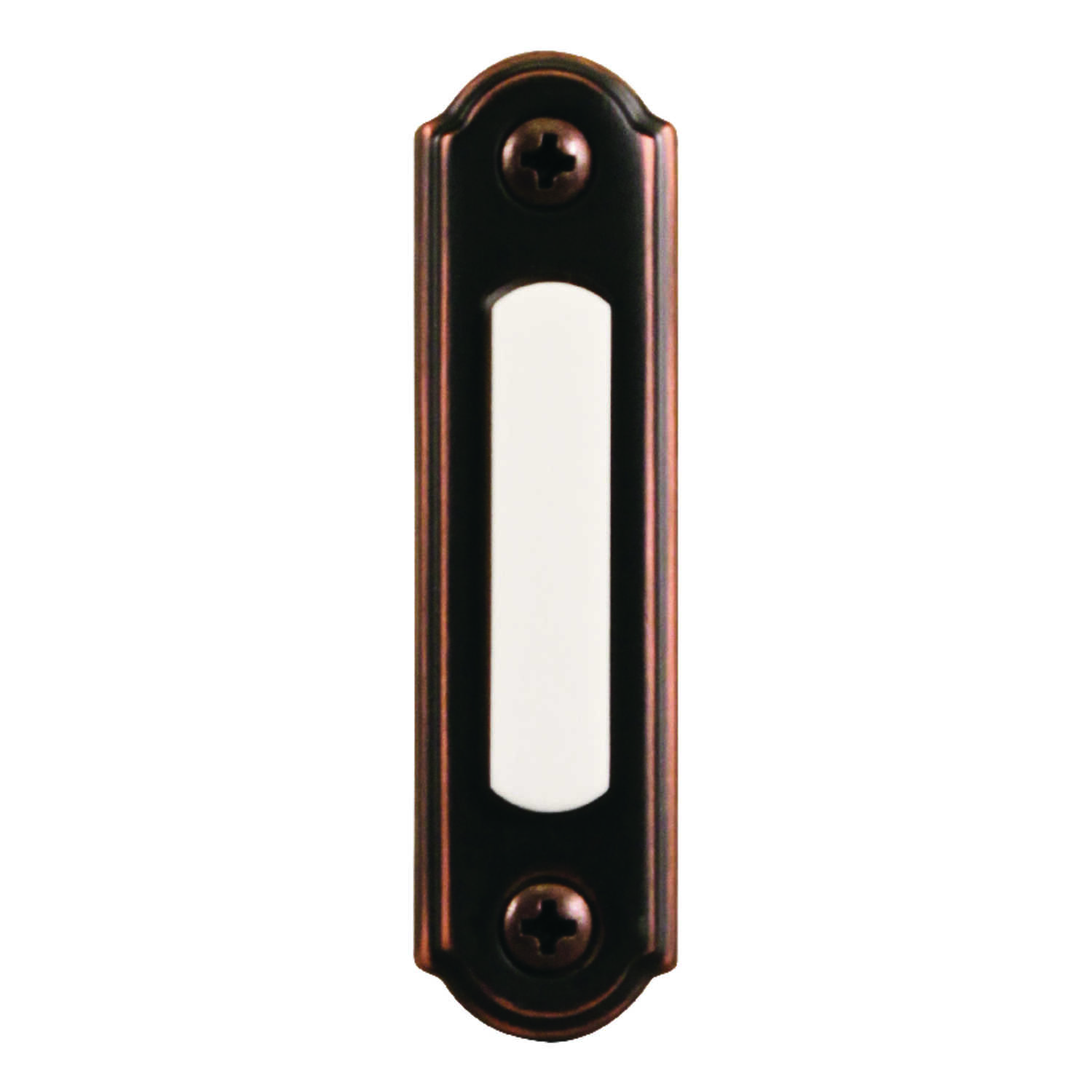 Heath Zenith  Antique Copper  Wired  Pushbutton Doorbell