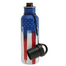 BottleKeeper  The Standard 2.0  Insulated Bottle Koozie  12 oz. American Graffiti  1 pk