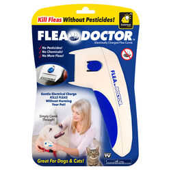 Flea Doctor  White  Cat/Dog  Flea Comb  1 pk