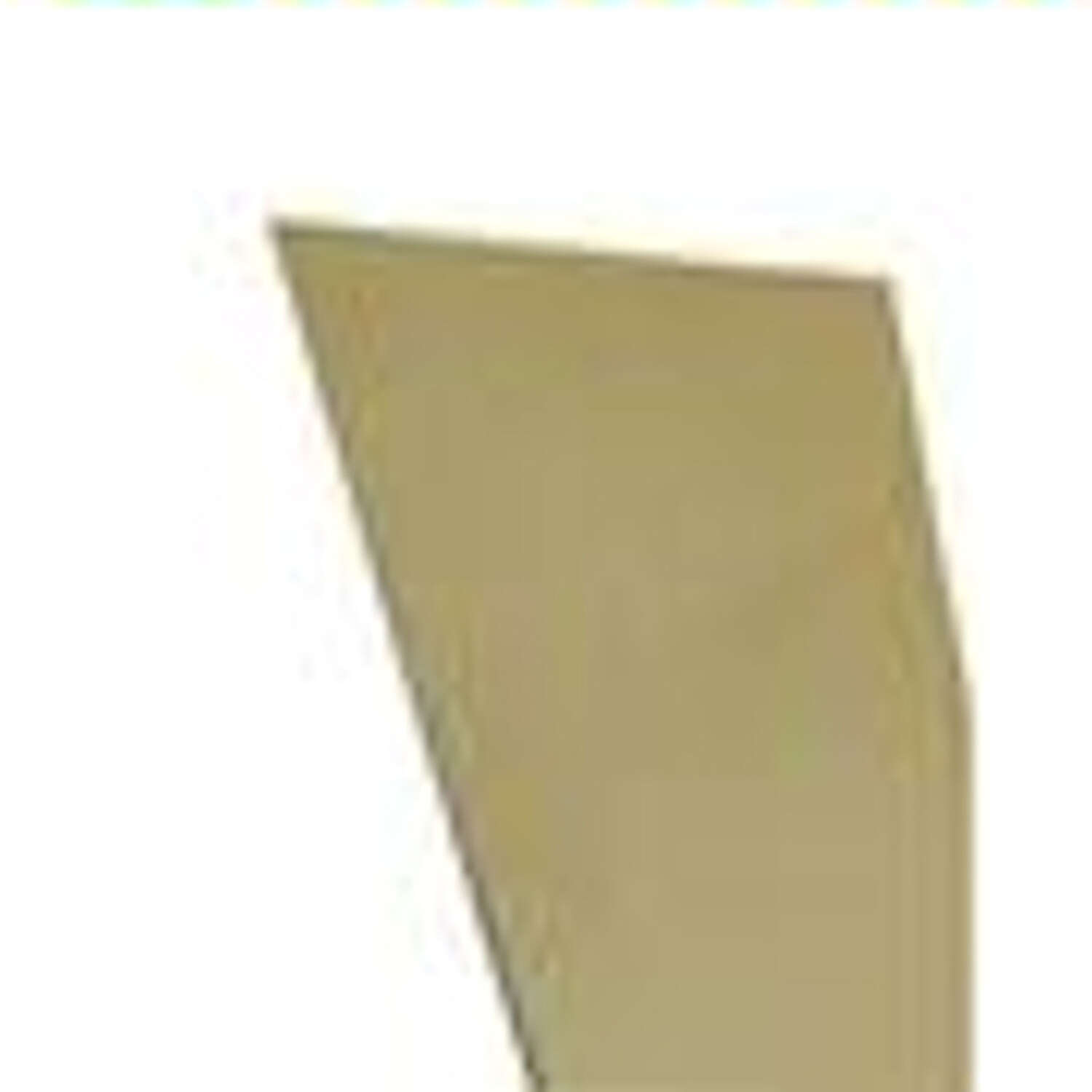 K&S  0.015 in.  x 4 in. W x 10 in. L Brass  Sheet Metal