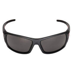 Milwaukee Anti-Fog Performance Safety Glasses Tinted Lens Black/Red Frame 1 pc.