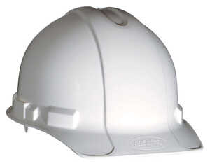 3M  Hard Hat  White  1 pk Polyethylene