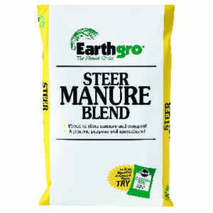 Earthgro  Organic Steer  Compost and Manure  1 cu. ft.