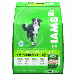 Iams  Proactive Health Mini Chunks  Chicken  Dry  Dog  Food  15