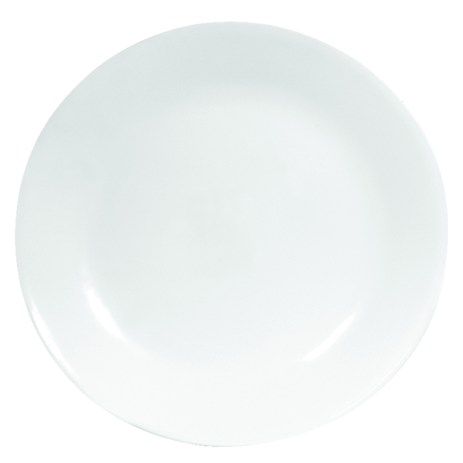 Corelle  White  Glass  Dinner Plate  Dinner Plate  1 pk