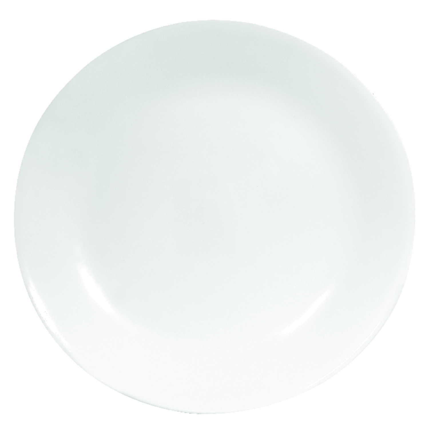 Corelle  White  Glass  Dinner Plate  1 pk