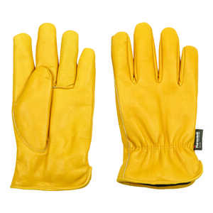 Wells Lamont  Men's  Leather  Work  Gloves  L  Saddletan