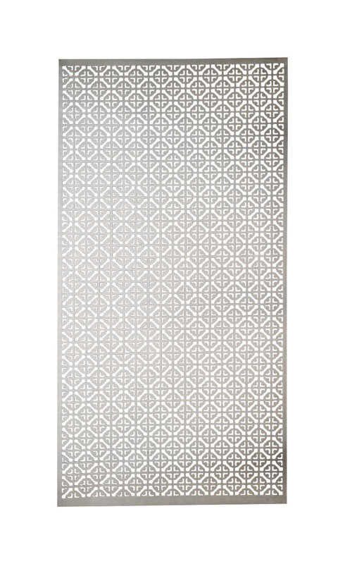 M-D Building Products  0.02 in.  x 1 ft. W x 2 ft. L Aluminum  Mosaic  Sheet Metal