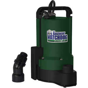 Basement Watchdog  1/3 hp 2200 gph Plastic  Submersible Utility Pump