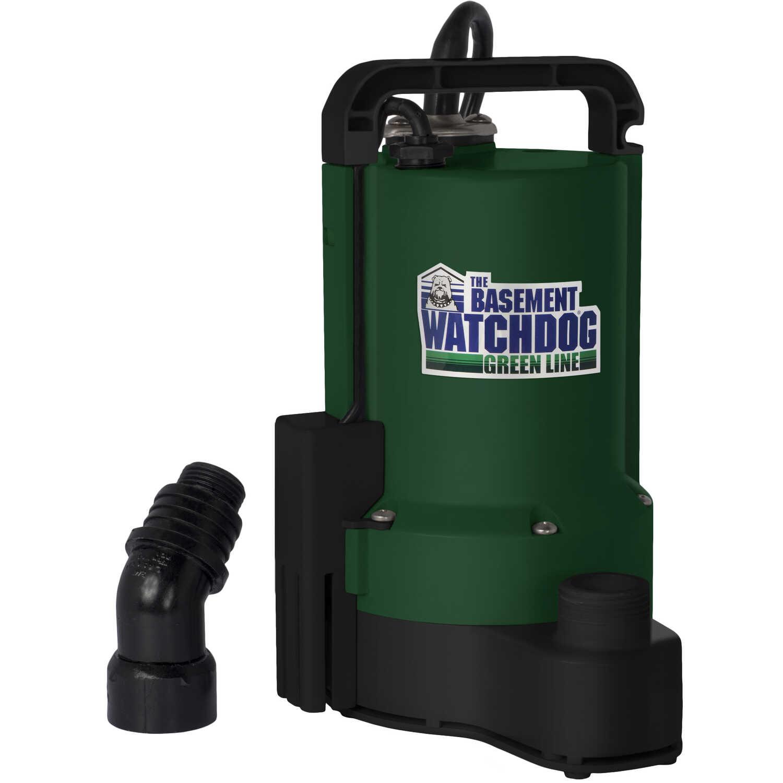 Basement Watchdog 1/3 Hp 2200 Gph Plastic Submersible