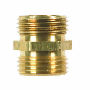 JMF  Brass  3/4 in. Dia. x 3/4 in. Dia. Adapter  Yellow  1 pk